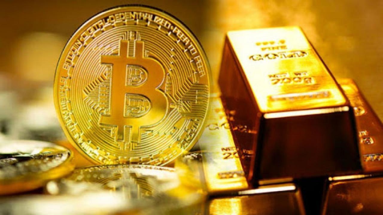 افزایش-همزمان-قیمت-طلا-و-بیت-کوین